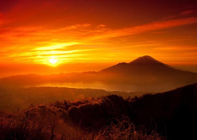 Incredible Sunrise Mt. Batur - Most Interesting Tourist Point Photos
