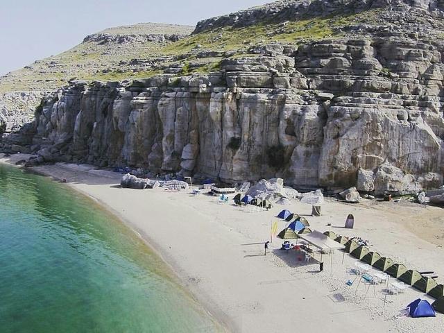 Khasab Beach Camping With Dhow Cruise Photos