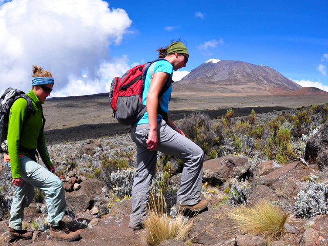Climbing Mt. Kilimanjaro Marangu Route Photos