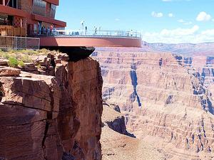 West Rim Bus Grand Canyon Fotos