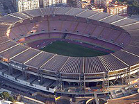 Soccer Game in Naples at San Paolo Stadium
