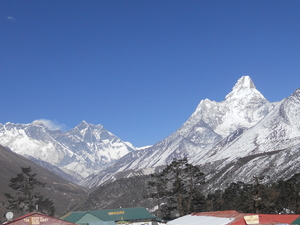 Everest & Tengboche Monastery trekking Photos