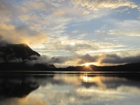 Lake Gunung Tujuh At 07.00 PM