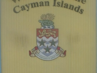 Welcome Sign To The Cayman Islands