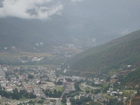 Full View Of Thimphu Valley From Buddha Point