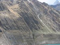 Solterococha Lake In The Huayhuash Trekking Circuit