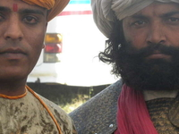 During The Shooting Of French Serial At Udaipur