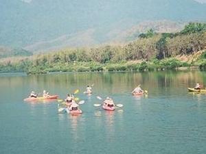 Full Day Kayaking to the Cave, Villages & Kuangsi Falls Photos