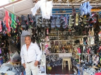 Shoe Vender At Markets. Heather Klaasen This Is Where I Got Your Slippers  :)