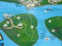 Isla Corazon Mapa