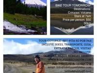 Cotopaxi Bike Tour