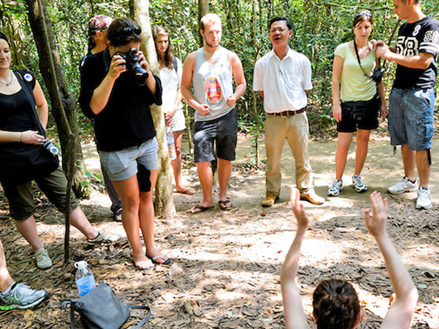 Cu Chi Tunnels - Cao Dai Temple One Days Photos