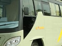 Tourist bus to Pokhara