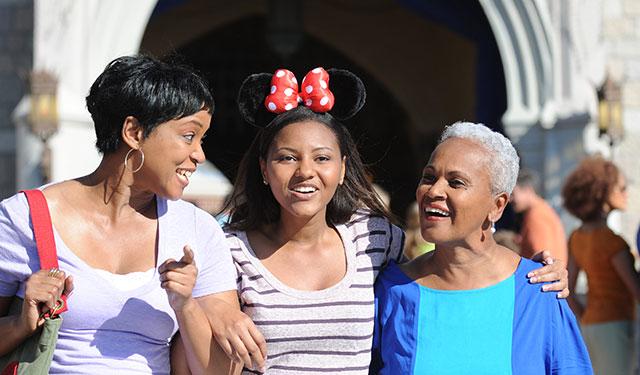 Disney Park-Hopping Photos
