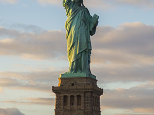 Boating to Lady Liberty Photos