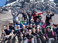 Base Camp Of Kilimanjaro