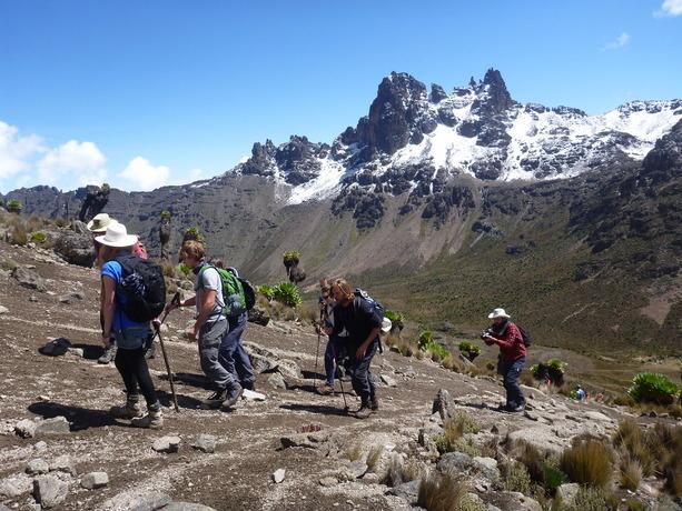 Mt Kenya Climb - Group Tour Photos
