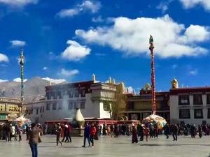 9days China/Kathmandu-Lhasa-Samye monastery-Shigatse-Namtso Discover Tibet tour Fotos