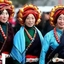 The Khangba Women Dressing Style In Tibet Http://www.tibetanstravel.com
