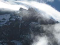 Gilmans Point,crater Rim At Mountain Kilimanjaro