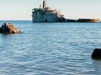 Francisco Morazan Shipwreck.