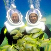 Belize Sea Trek Underwater Tour from Ambergris Caye
