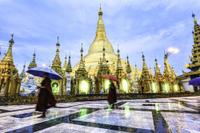 Shwedagon Pagoda Walking Tour Photos