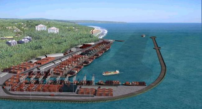Vizhinjam International Seaport Thiruvananthapuram India
