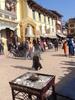 Shops Around Boudhanath