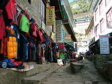 Jackets And Winter Clothes In Namche