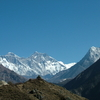 Everest Ana Dablam From Namche