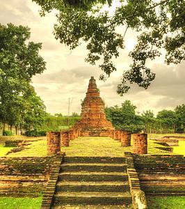 Wat E Kang Panorama