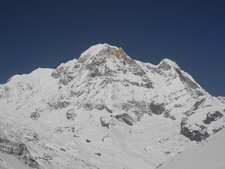 View Of Annapurna Base Camp