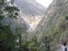 Hikers Crossing Tibuje Khola