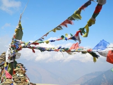 Prayer Flags Deurali Pass