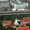 Wat Pathum Wanaram From Baiyoke Tower