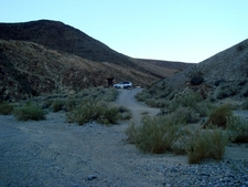 Parking At The Main Trail Head For The Canyon