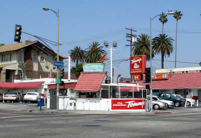Original Location At Beverly And Rampart