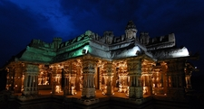 Night View Of The Temple