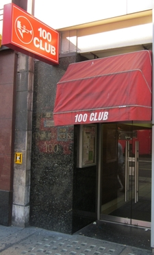 Entrance To The 100 Club