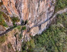 Close Up View Of The Inca Bridge