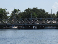 Snow Reed Swing Bridge