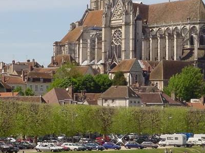 The Yonne In Auxerre