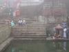 Pilgrims Bathing In A Temple Tank At Talakaveri