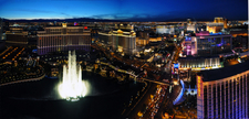 The Bellagio, Caesars Palace, And Part Of The Strip