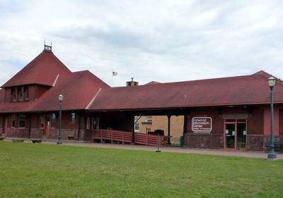 Chicago Northwestern Depot    Ironwood