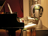 World Of Robot Robot Playing The Piano