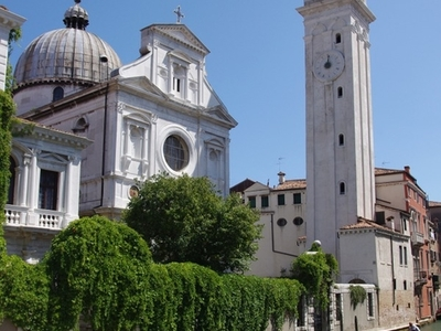San Giorgio Dei Greci With Its Campanile