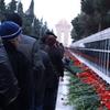 Martyrs' Lane During Black January, 2011