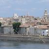 Left Bank Of The Rhone In Arles